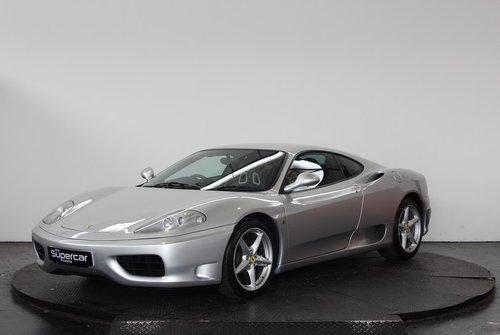 2000 Ferrari 360 Modena - 11K Miles - Manual  - Carbon Seats For Sale (picture 5 of 6)