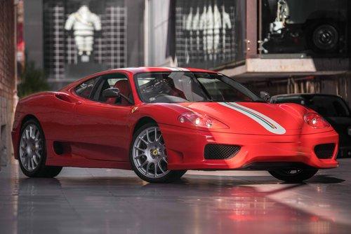 2004 Ferrari 360 Challenge Stradale SOLD (picture 1 of 6)