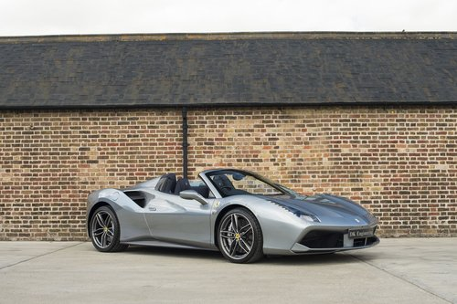 2017 Ferrari 488 Spider - RHD - 900 miles from new For Sale (picture 1 of 6)