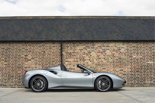 2017 Ferrari 488 Spider - RHD - 900 miles from new For Sale (picture 2 of 6)