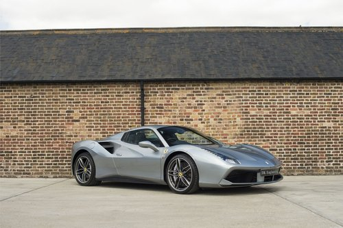 2017 Ferrari 488 Spider - RHD - 900 miles from new For Sale (picture 3 of 6)