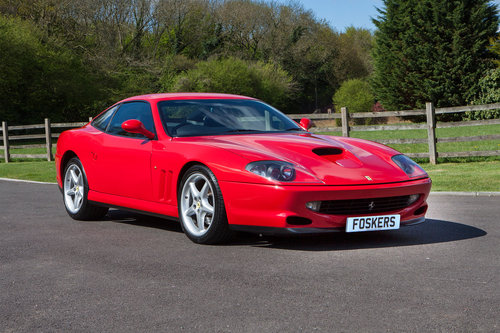 1997 Ferrari 550 Maranello For Sale (picture 1 of 6)
