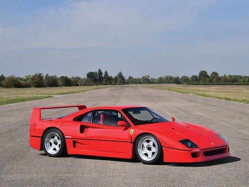 1992 Ferrari F40  For Sale (picture 1 of 1)