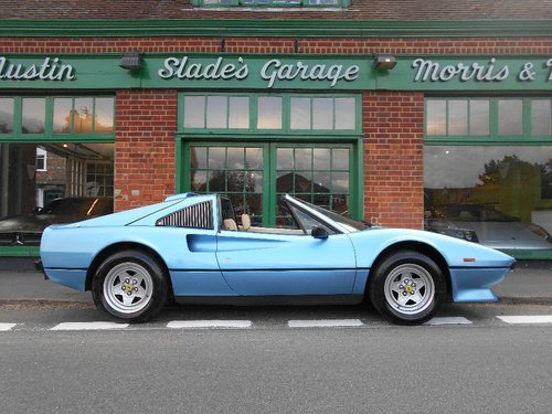 1985 Ferrari 308 GTS QV  SOLD (picture 1 of 4)