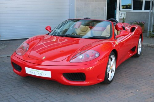 2003 Ferrari 360 Spider Manual For Sale (picture 1 of 6)