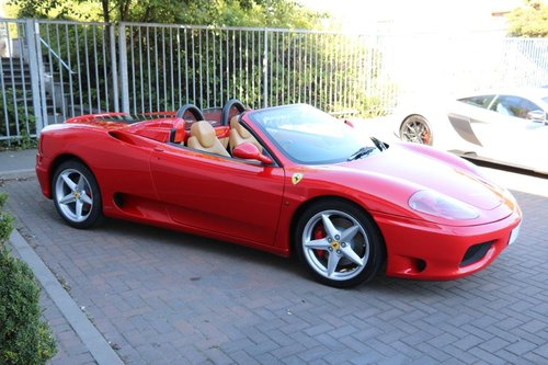 2003 Ferrari 360 Spider Manual For Sale (picture 3 of 6)