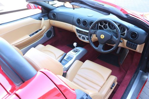 2003 Ferrari 360 Spider Manual For Sale (picture 5 of 6)
