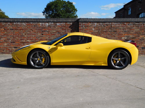 2015 Ferrari 458 S.A Speciale Aperta RHD - 1 Previous Owner For Sale (picture 1 of 6)