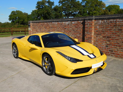 2015 Ferrari 458 S.A Speciale Aperta RHD - 1 Previous Owner For Sale (picture 2 of 6)