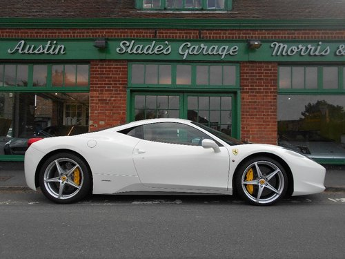 2010 Ferrari 458 Coupe DCT  SOLD (picture 1 of 4)
