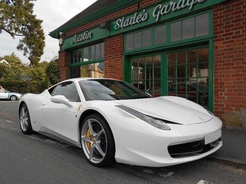 2010 Ferrari 458 Coupe DCT  SOLD (picture 2 of 4)
