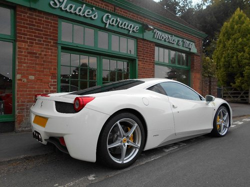 2010 Ferrari 458 Coupe DCT  SOLD (picture 3 of 4)