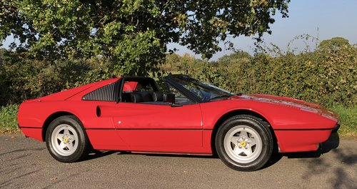 1981 FERRARI 308 GTSi 1 OWNER 35 YEARS HISTORY FROM NEW ! For Sale (picture 3 of 6)