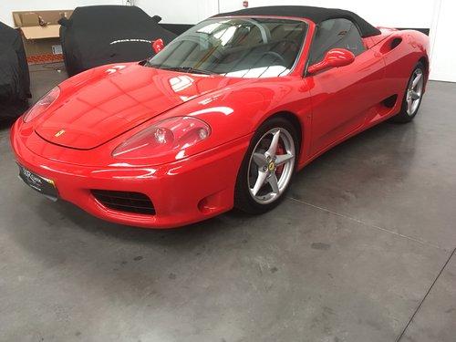 2002 Ferrari 360 Spider For Sale (picture 1 of 6)