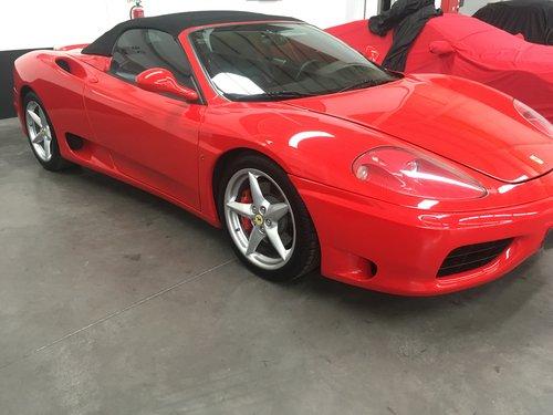 2002 Ferrari 360 Spider For Sale (picture 2 of 6)