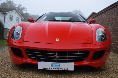 2008 Ferrari 599 GTB 6.0i V12 Coupe F1 SOLD (picture 4 of 6)