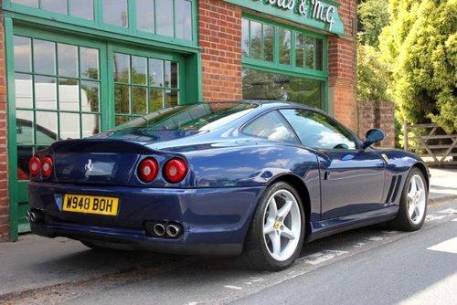 2000 Ferrari 550 Maranello Coupe Manual  For Sale (picture 3 of 4)