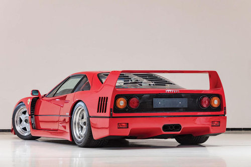 1987 Cherished number 40 FTY Ferrari F40 LM Ford GT40 For Sale (picture 1 of 3)