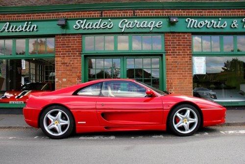 1997 Ferrari 355 GTB Coupe Manual  SOLD (picture 1 of 4)