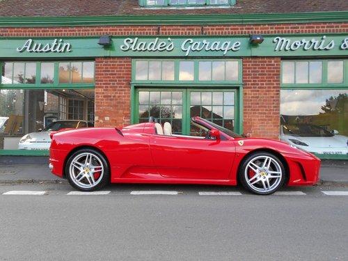 2006 Ferrari F430 Spider F1 SOLD (picture 1 of 4)