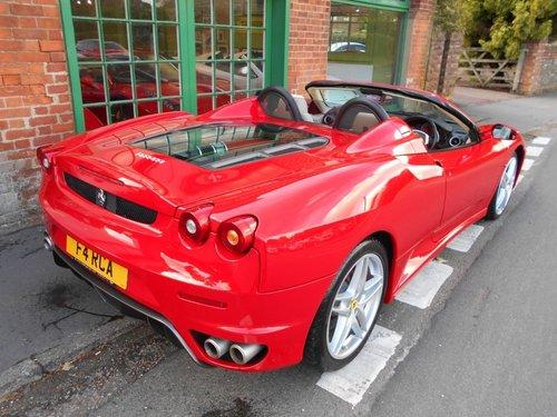 2006 Ferrari F430 Spider F1 SOLD (picture 3 of 4)