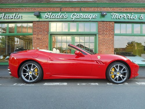 2009 Ferrari California  SOLD (picture 1 of 4)