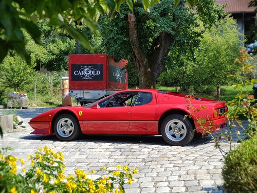 1981 Ferrari 512 BB,  64.536 km original! Two owners from new For Sale (picture 4 of 6)