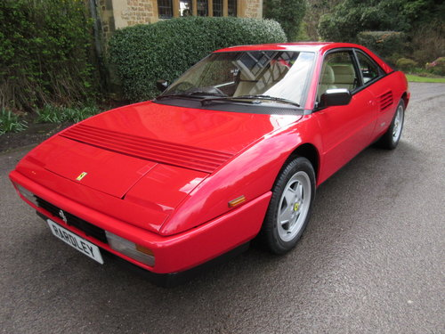 1990 SOLD-ANOTHER REQUIRED Ferrari Mondial 3.4t - one of just 52 For Sale (picture 1 of 6)