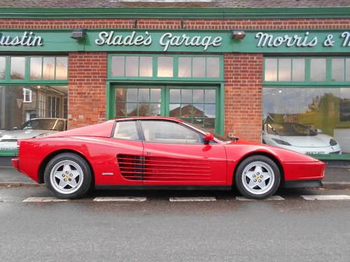 1992 Ferrari Testarossa Coupe Manual  SOLD (picture 1 of 4)