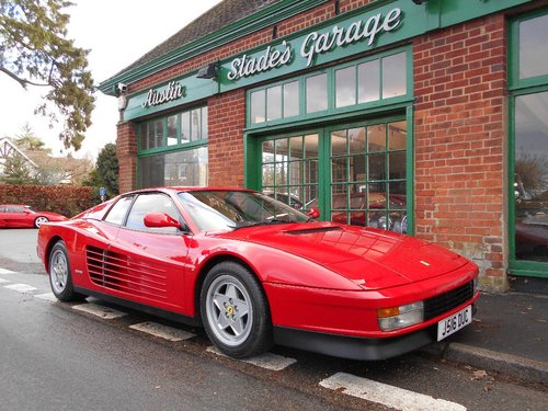 1992 Ferrari Testarossa Coupe Manual  SOLD (picture 2 of 4)
