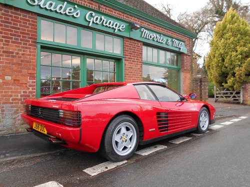 1992 Ferrari Testarossa Coupe Manual  SOLD (picture 3 of 4)