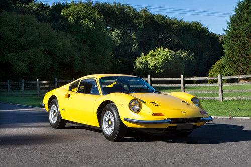 1972 Ferrari Dino 246 GT  SOLD (picture 1 of 6)