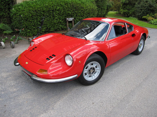 1973 Dino Ferrari 246 GT-matching numbers For Sale (picture 1 of 6)