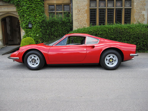 1973 Dino Ferrari 246 GT-matching numbers For Sale (picture 2 of 6)