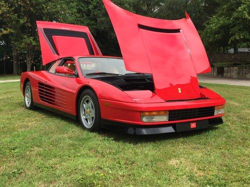 FERRARI TESTAROSSA,1990.  OUTSTANDING. £99,995 For Sale (picture 4 of 6)