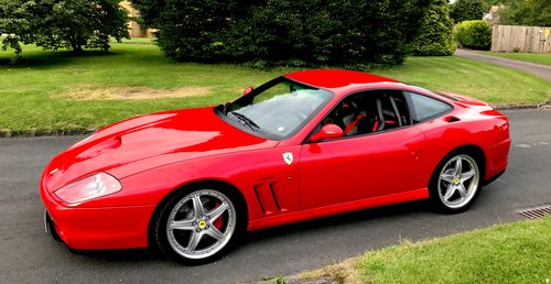 2003 Ferrari 575 Personal Number Plate For Sale (picture 2 of 5)