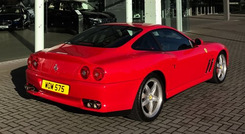 2003 Ferrari 575 Personal Number Plate For Sale (picture 3 of 5)