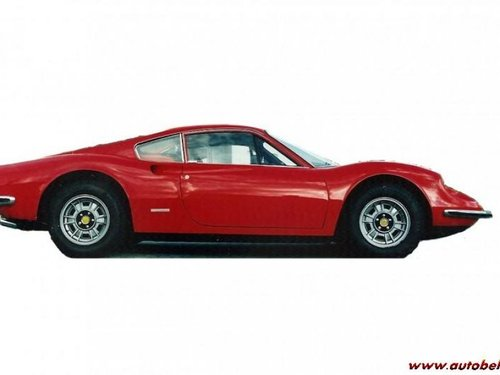 wanted; Ferrari Dino 246 GT SOLD (picture 1 of 1)