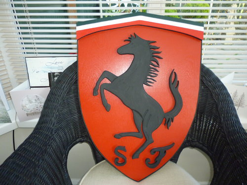 3D Ferrari Shield For Sale (picture 1 of 3)