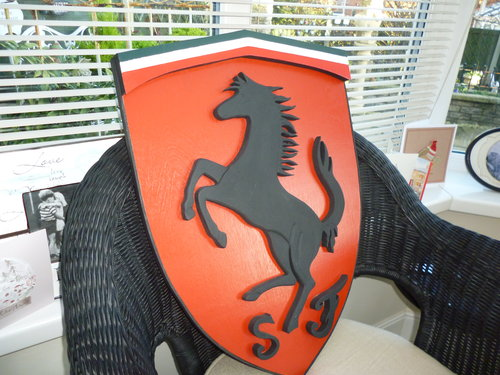 3D Ferrari Shield For Sale (picture 2 of 3)