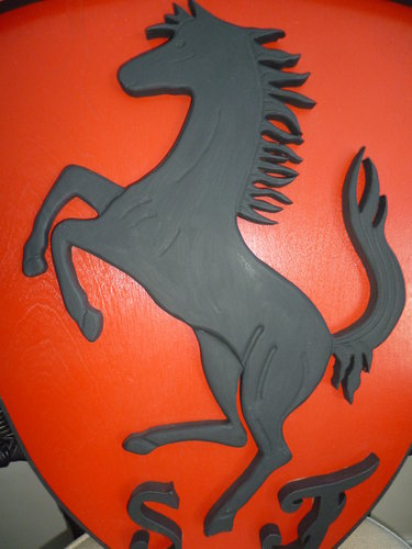 3D Ferrari Shield For Sale (picture 3 of 3)
