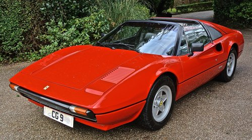 1981 FERRARI 308 GTSi  LHD    1 OWNER 35 YEARS HISTORY FROM NEW ! For Sale (picture 1 of 6)