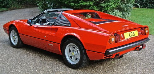 1981 FERRARI 308 GTSi  LHD    1 OWNER 35 YEARS HISTORY FROM NEW ! For Sale (picture 3 of 6)