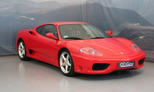 2001 Ferrari F360 Modena F1 For Sale (picture 1 of 6)