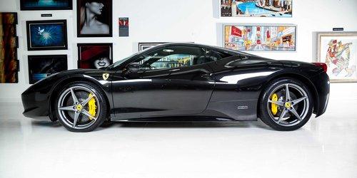 2011 Ferrari 458 Coupe Black For Sale (picture 2 of 6)