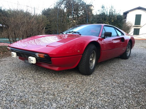 1981 Ferrari 208 gtb. 1 of 160 made. One owner. For Sale (picture 1 of 6)