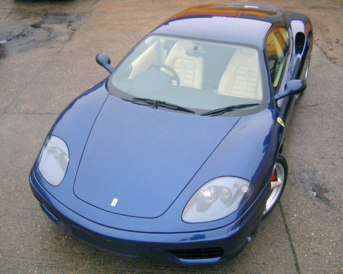 2000 Ferrari 360 Modena 6- manual For sale on behalf of the owner For Sale (picture 1 of 5)