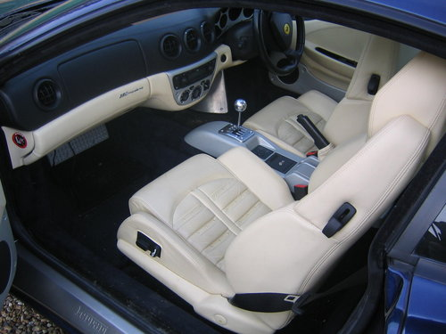 2000 Ferrari 360 Modena 6- manual For sale on behalf of the owner For Sale (picture 3 of 5)