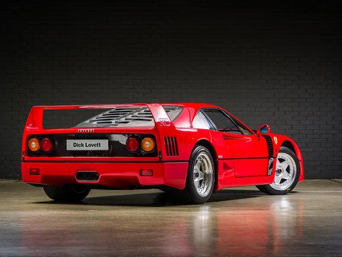 1992 Ferrari F40 Factory Classiche'd For Sale (picture 2 of 6)
