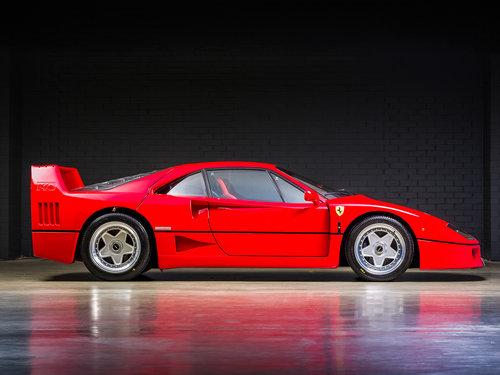 1992 Ferrari F40 Factory Classiche'd For Sale (picture 3 of 6)